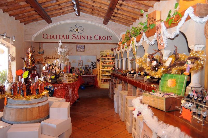 cave a vin carcès Chateau Sainte Croix
