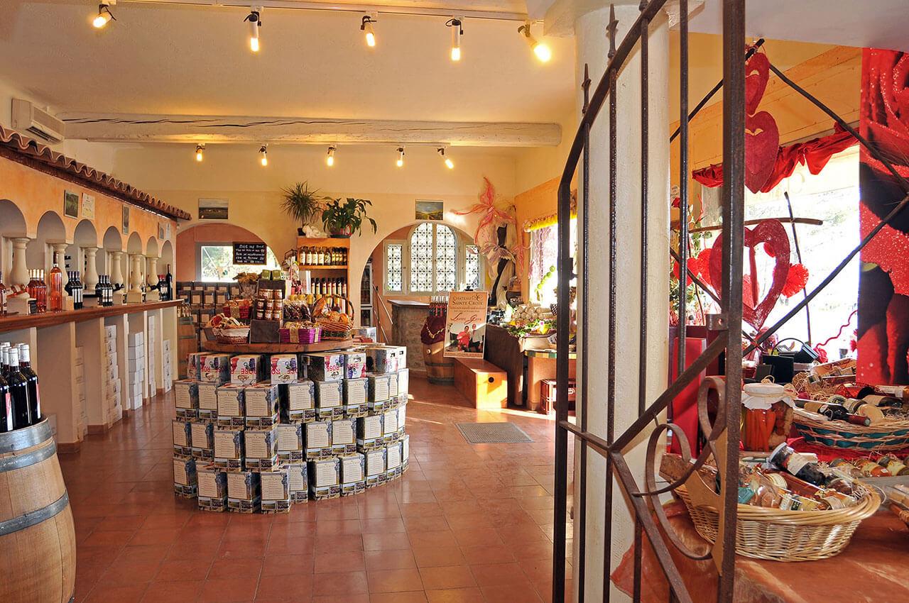 cave a vin antibes Château Sainte Croix