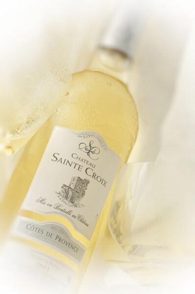vin blanc Provence Château Sainte Croix