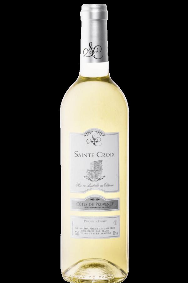 vin blanc de provence Château Sainte Croix Carcès