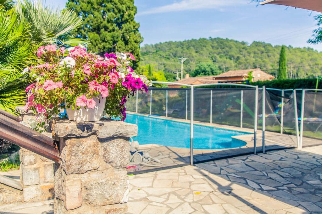 chambres d'hotes var avec piscine Carcès