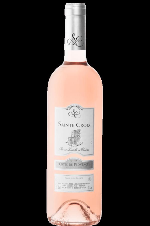vin rosé de provence Château Sainte Croix Carcès
