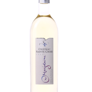 marjolaine blanc Château Sainte Croix Carcès