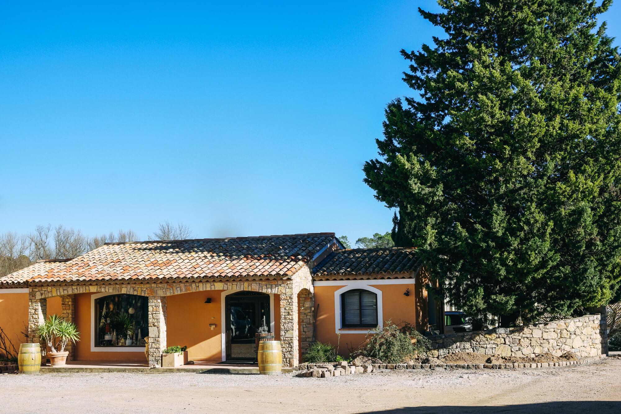 cave à vin à Carcès, Château Sainte Croix