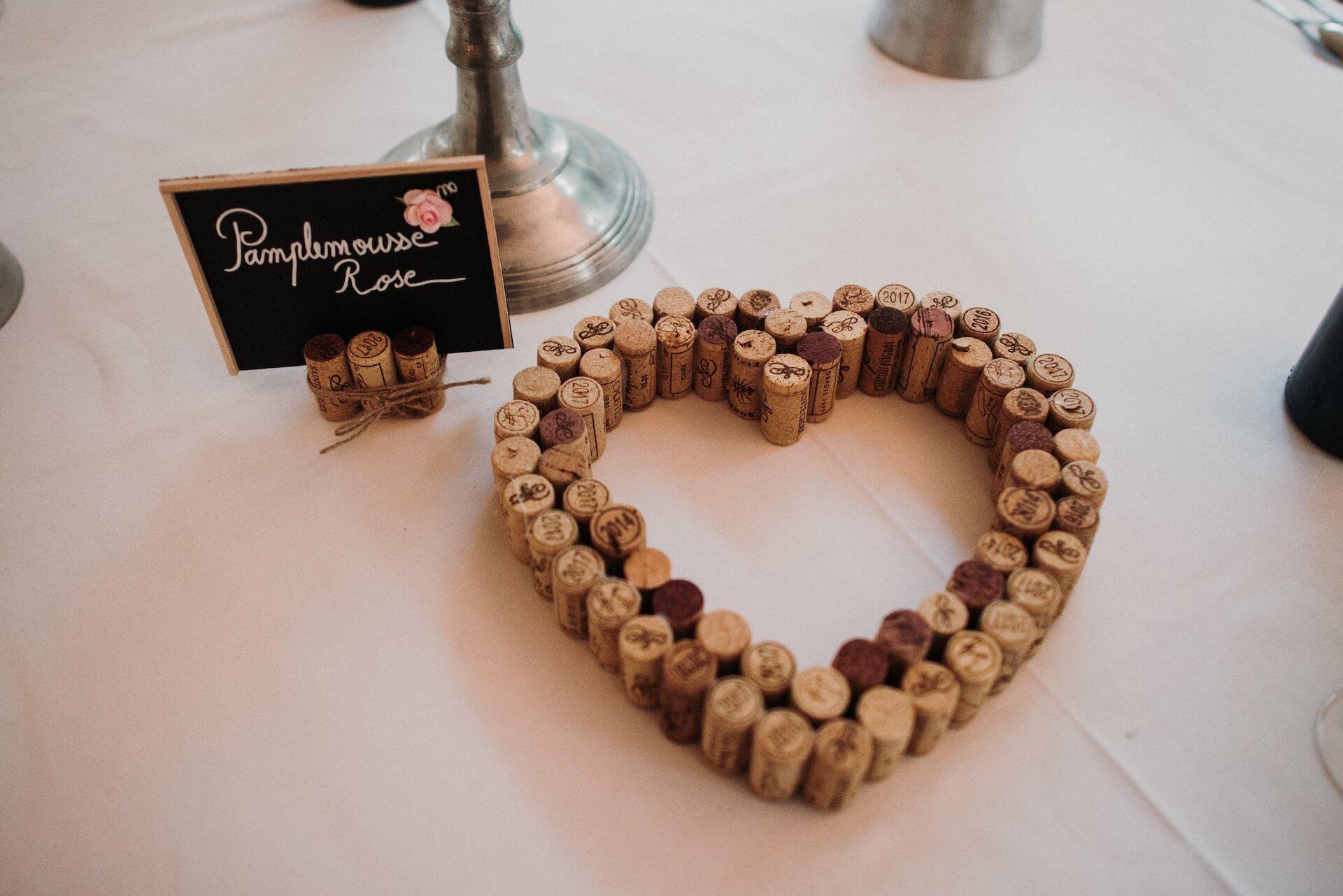 table mariage en Provence au Château Sainte Croix à Carcès