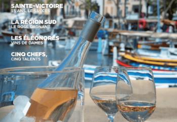 page de couverture édition 2019 du magazine Rosés en Provence