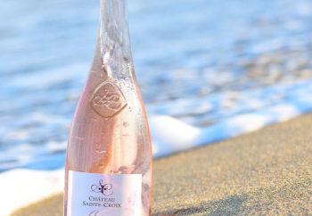 rosé Charmeur Côtes de Provence du domaine Château Sainte Croix à Carcès