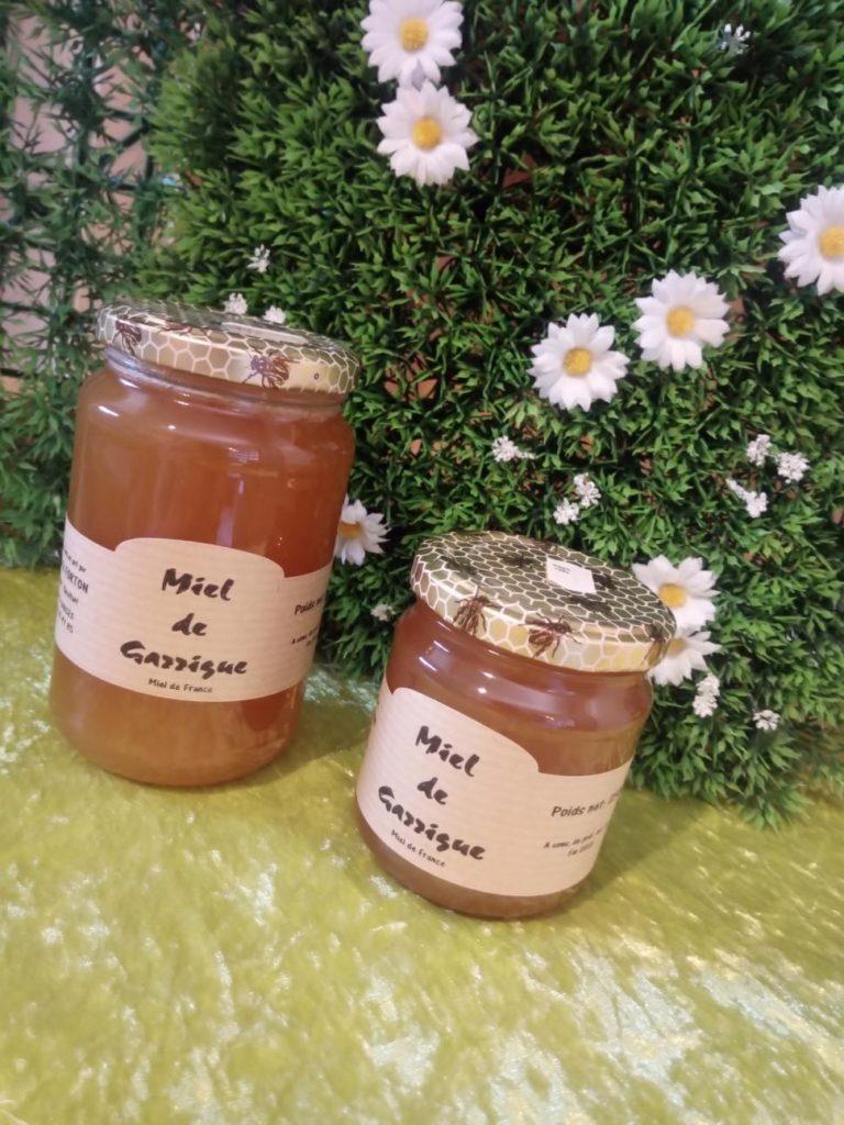 miel de gassigue dans la cave à vin à Antibes